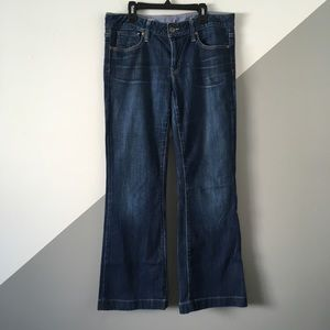 "GAP Sz8 Long and Lean Bootcut Jeans 30"" Inseam"